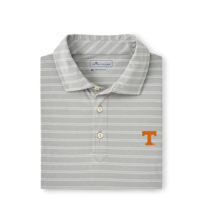 Tennessee Peter Millar Dunns Stripe Polo