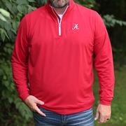 Alabama Peter Millar Perth Stretch 1/4 Zip