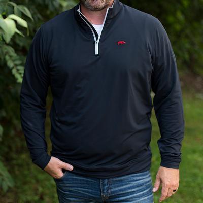 Arkansas Peter Millar Perth Stretch 1/4 Zip