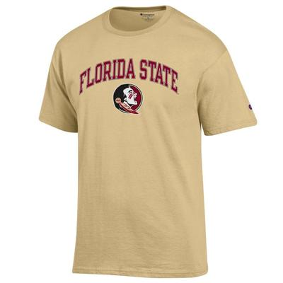 Florida State Champion Florida State Arch with Logo Tee