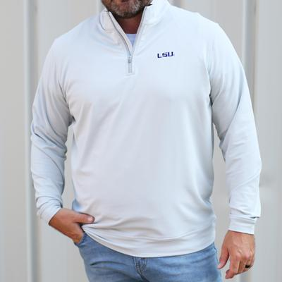 LSU Peter Millar Perth Stretch 1/4 Zip
