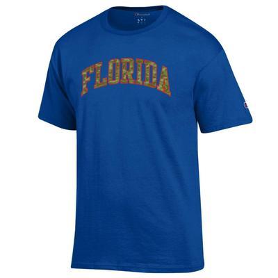 Florida Champion Camo Arch Tee