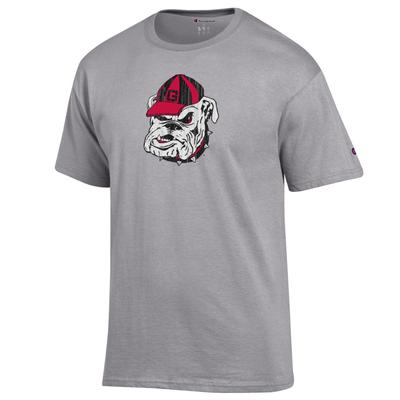Georgia Champion Giant Bulldog Short Sleeve Tee Shirt