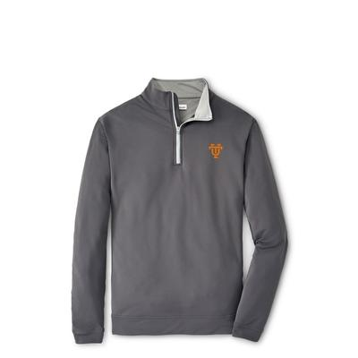 Tennessee Peter Millar Vault Perth Stretch 1/4 Zip