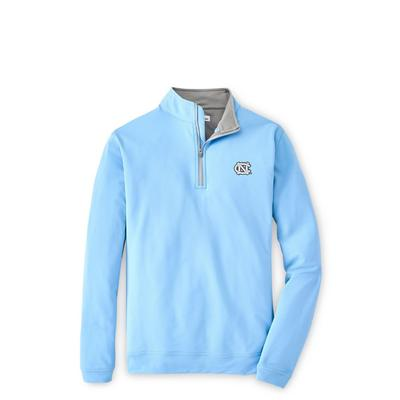 UNC Peter Millar Perth Stretch 1/4 Zip