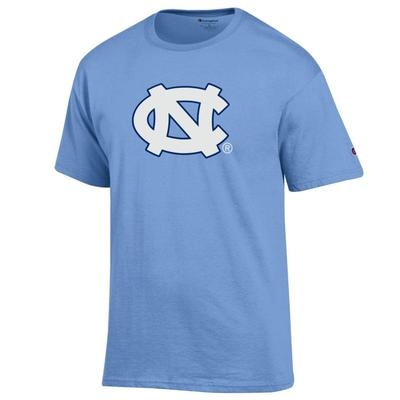 UNC Champion Interlocking UNC Tee