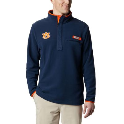 Auburn Columbia Harborside Fleece Pullover - Tall Sizing