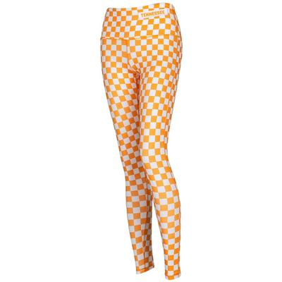 Tennessee Women's Zoozatz Spirit Checkerboard Leggings