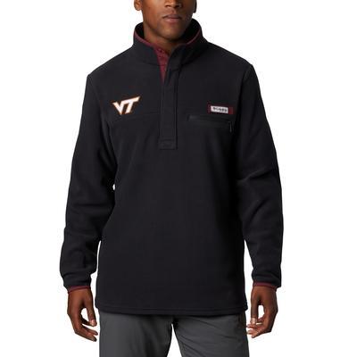 Virginia Tech Columbia Harborside Fleece Pullover - Tall Sizing