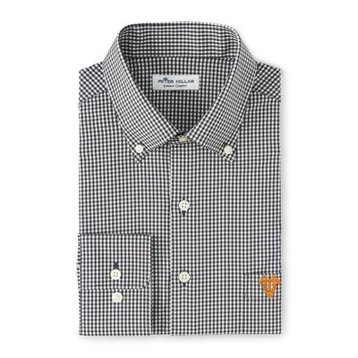 Tennessee Peter Millar Vault Gingham Stretch Woven Shirt