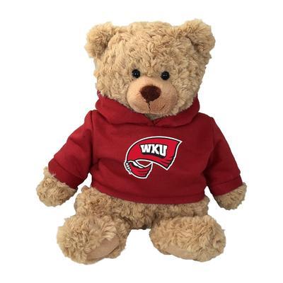 Western Kentucky 13 Inch Cuddle Buddie Plush Bear