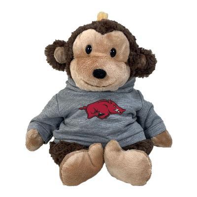Arkansas 13 Inch Cuddle Buddie Plush Monkey