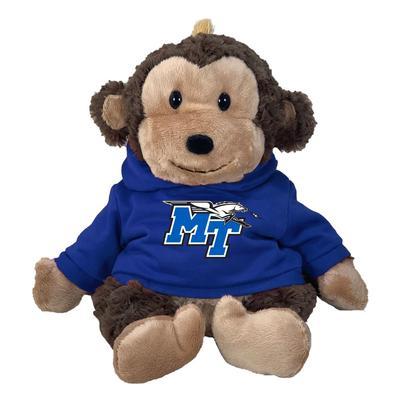 MTSU 13 Inch Cuddle Buddie Plush Monkey