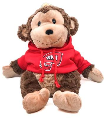 Western Kentucky 13 inch Cuddle Buddie Plush Monkey
