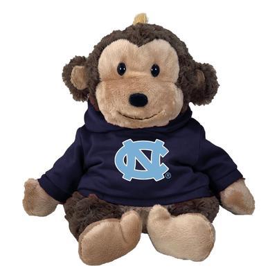 UNC 13 Inch Cuddle Buddie Plush Monkey
