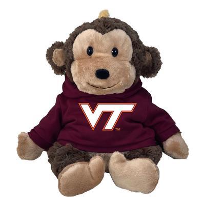 Virginia Tech 13 Inch Cuddle Buddie Plush Monkey