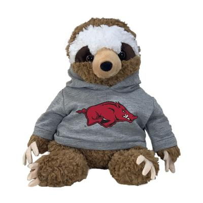 Arkansas 13 Inch Cuddle Buddie Plush Sloth