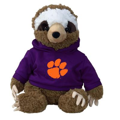 Clemson 13 Inch Cuddle Buddie Plush Sloth