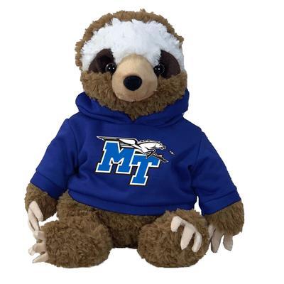 MTSU 13 Inch Cuddle Buddie Plush Sloth