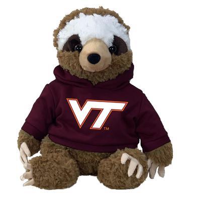 Virginia Tech 13 Inch Cuddle Buddie Plush Sloth