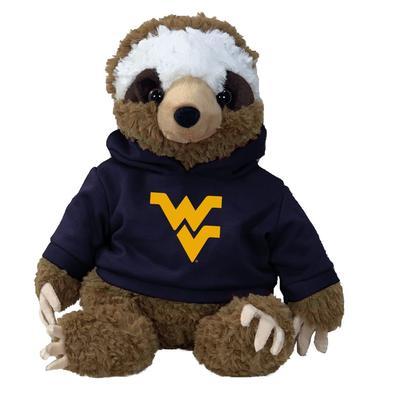 West Virginia 13 Inch Cuddle Buddie Plush Sloth
