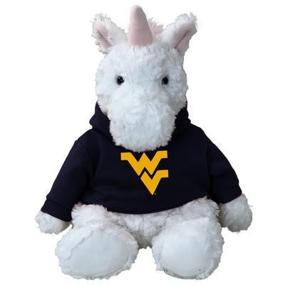 West Virginia 13 Inch Cuddle Buddie Plush Unicorn