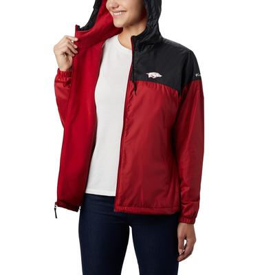 Arkansas Women's Columbia CLG Flash Forward Lined Jacket