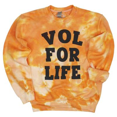 Tennessee Women's VFL Good Vibes Tie Dye Crew