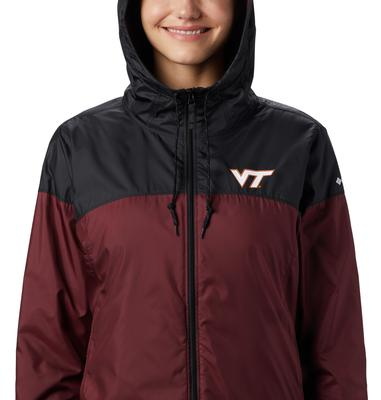 Virginia Tech Women's Columbia CLG Flash Forward Lined Jacket