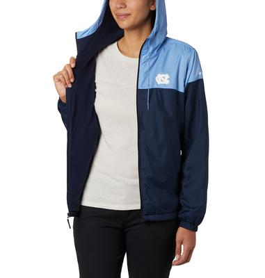 UNC Women's Columbia CLG Flash Forward Lined Jacket