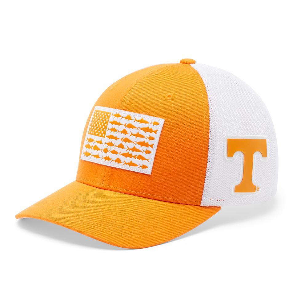 Tennessee Columbia Pfg Fish Flag Mesh Hat