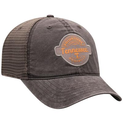 Tennessee Top of the World Ominous Patch Trucker Hat