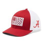 Alabama Columbia Pfg Fish Flag Mesh Hat