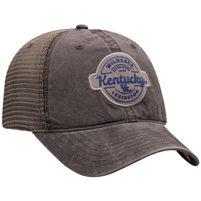 Kentucky Top of the World Ominous Patch Trucker Hat