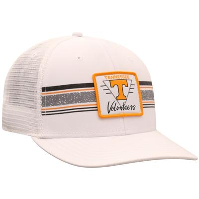 Tennessee Top of the World Retro Striped Patch Mesh Hat