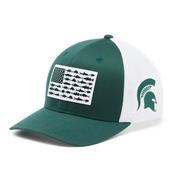 Michigan State Columbia Pfg Fish Flag Mesh Hat