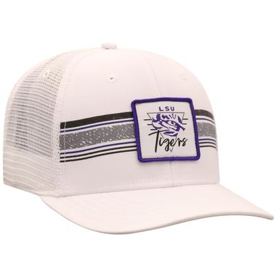 LSU Top of the World Retro Striped Patch Mesh Hat