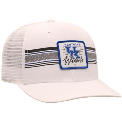 Kentucky Top of the World Retro Striped Patch Mesh Hat