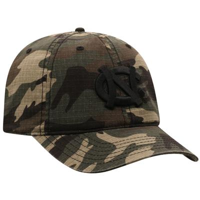 UNC Top of the World Woodland Logo Hat