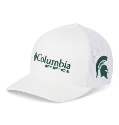 Michigan State Columbia PFG Mesh Hat