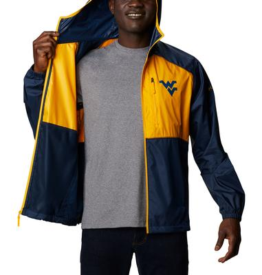 West Virginia Columbia Men's CLG Flash Forward Jacket