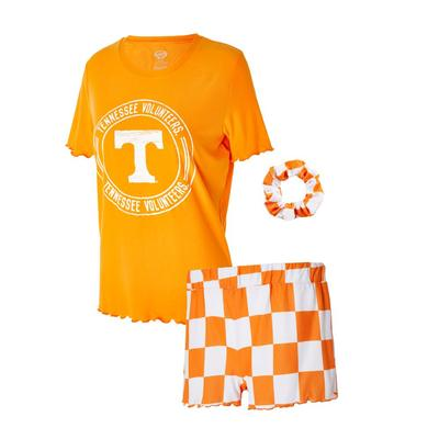 Tennessee Women's Zest Top, Shorts, and Scrunchie Set