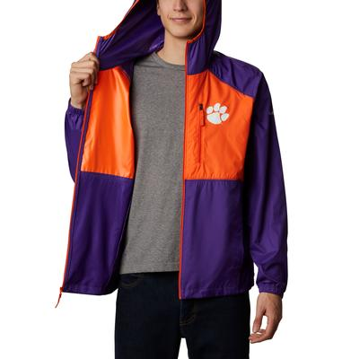 Clemson Columbia Men's CLG Flash Forward Jacket