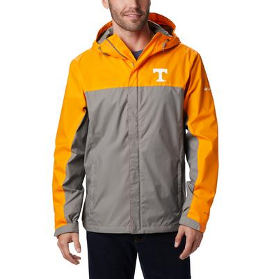 Tennessee Columbia Men's Glennaker Storm Jacket - Tall Sizing
