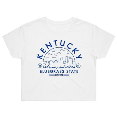 Kentucky Women's Voyager Crop Short Sleeve Tee