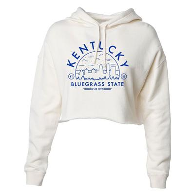 Kentucky Women's Cropped Voyager Hoodie