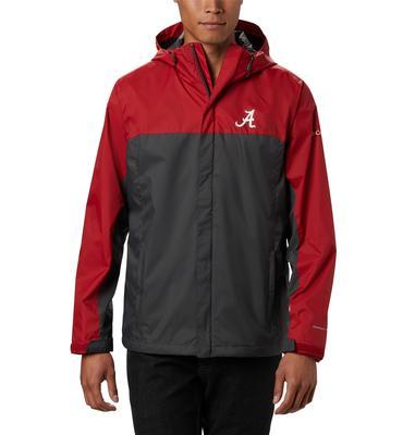 Alabama Columbia Men's Glennaker Storm Jacket - Tall Sizing
