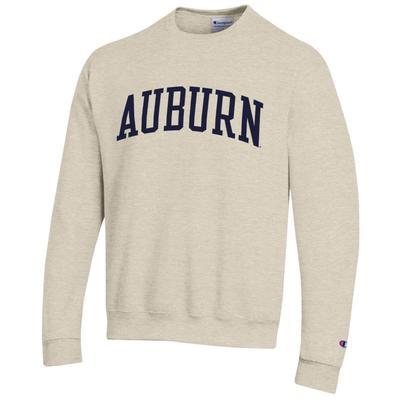 Auburn Arch Logo Crew Fleece Pullover