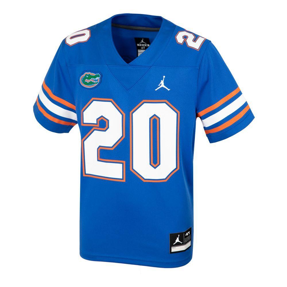 Florida Nike Jordan Brand Toddler # 20 Replica Football Jersey