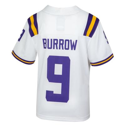 LSU Nike Youth #9 Joe Burrow Football Jersey